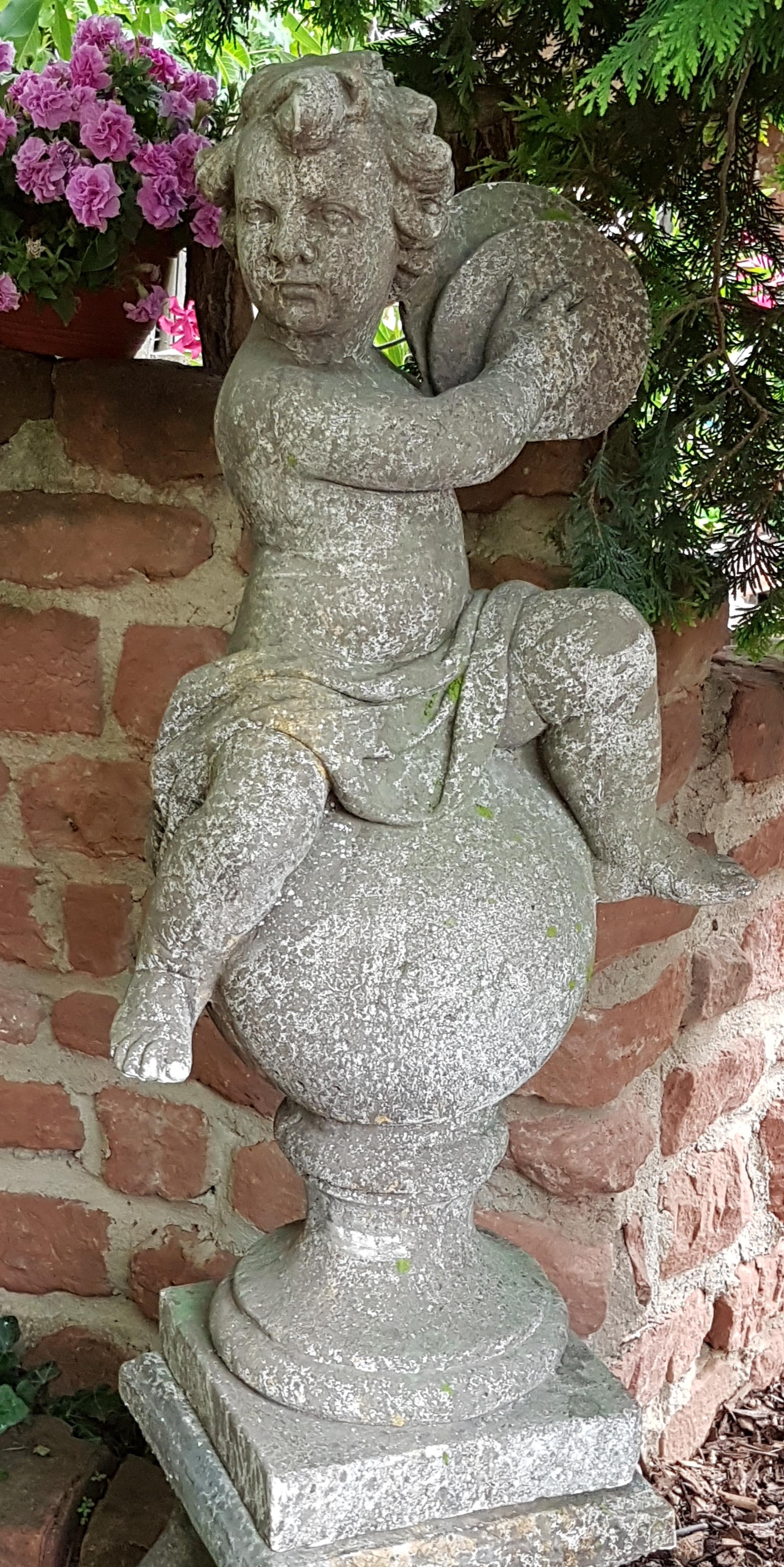 Putten Und Engel Rendezvous Im Garten Part 2