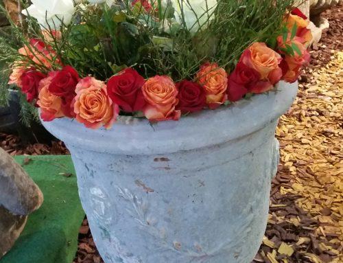 Mittlere Vase