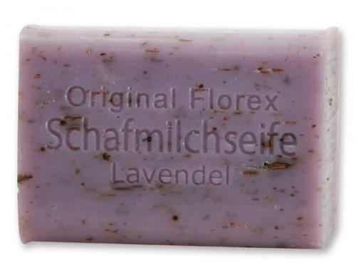 Schafmilchseife Lavendel eckig 100g