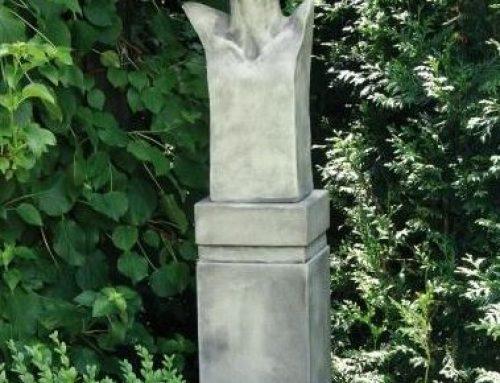 Büste Sisala aus Steinguss